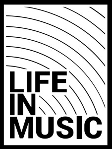 life in music logo B&W final